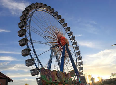 Welcome to the Munich Oktoberfest - English Info Guide - Ferris wheel at the Theresienwiese!